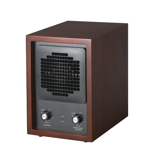 HE 223DCH dark cherry wood cabinet  Air Purifier with ionizer and ozone generator