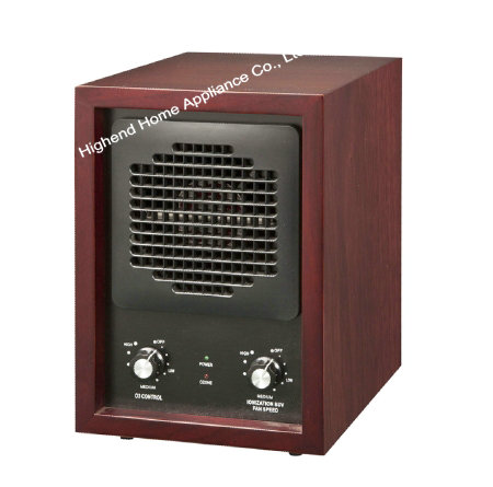 HE 223DCH Solid wood cabinet  Air Purifier with ionizer and ozone generator